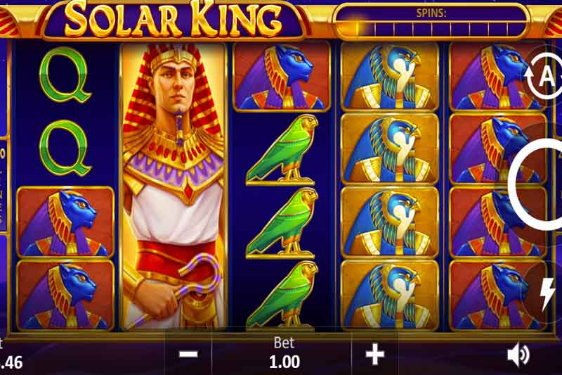 Solar King - Playson's Newest 20 Line Slot Game