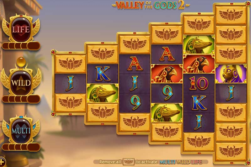 Valley of the Gods 2 - Yggdrasil's Sequel Slot Is Now Live