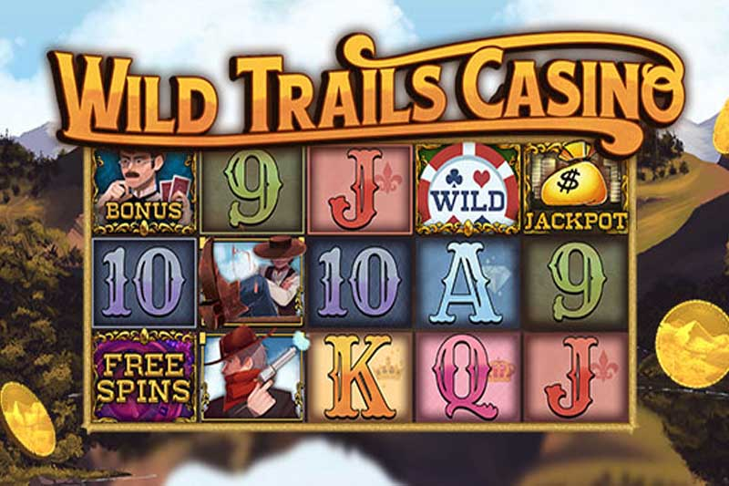 Wild Trails Casino - New Wild West Cowboy Slot From Slot Factory