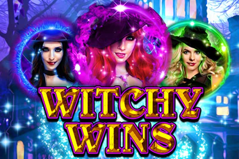 Witchy Wins - New RTG Slot Launch With 25 No Deposit Free Spins
