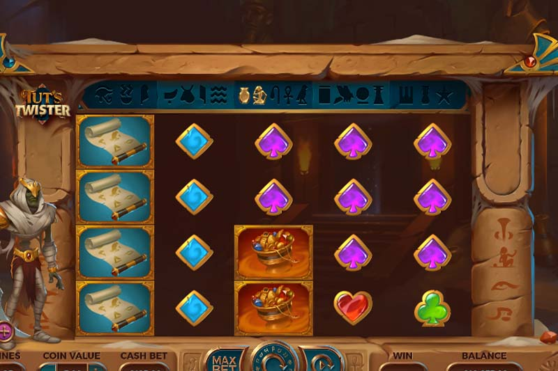 Yggdrasil Scoops Slot Of The Week With Tut's Twister (September 11th 2020)