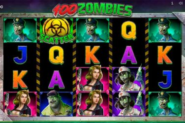 100 Zombies - New Halloween Horror Slot From Endorphina