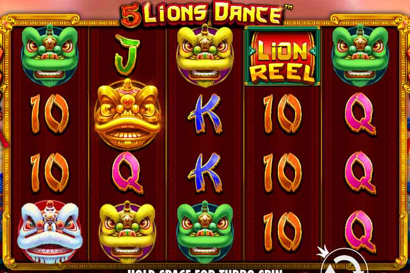Pragmatic Play's 5 Lions Dance Is Out Now