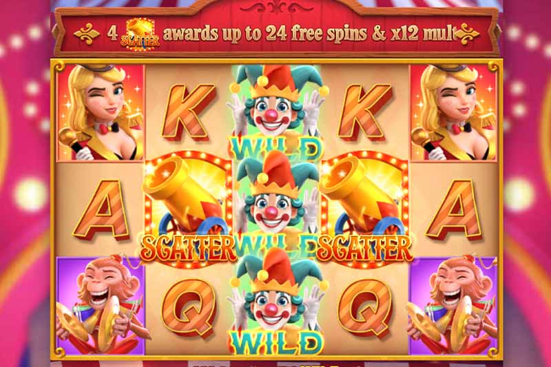 Pocket Games Soft Launch New 3D Video Slot Circus Delight