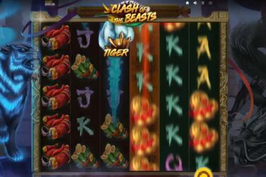 Clash Of The Beasts - Red Tiger's Latest Online Slot Release