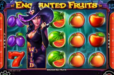Enchanted Fruits - New Halloween Themed Slot By CT Gaming
