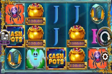 Halloween Cash Pots - New Halloween Slot From Inspired Gaming
