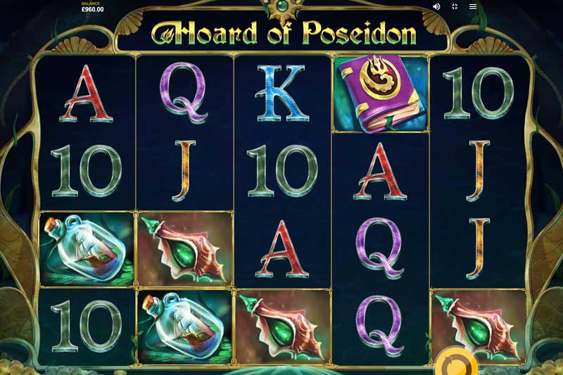 Hoard of Poseidon - New Slot Release From Red Tiger