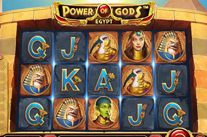 Power of Gods Egypt - Wazdan's Newest Slot Game