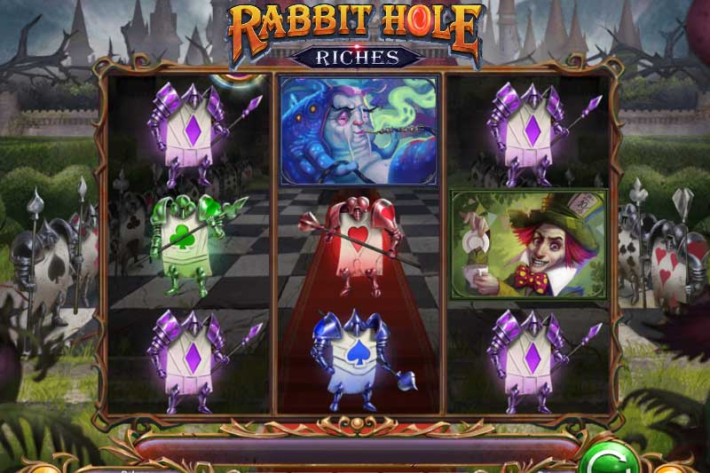 Rabbit Hole Riches - Play'n Go's Newest Slot Release