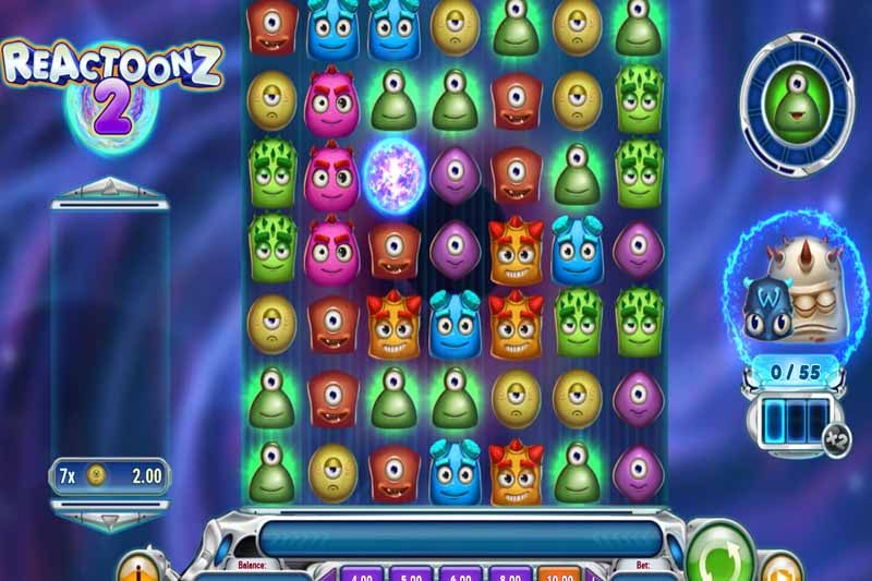 Reactoonz 2 - Play'n Go's Newest Slot Release