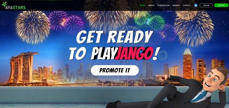 PlayJango casino affiliate program