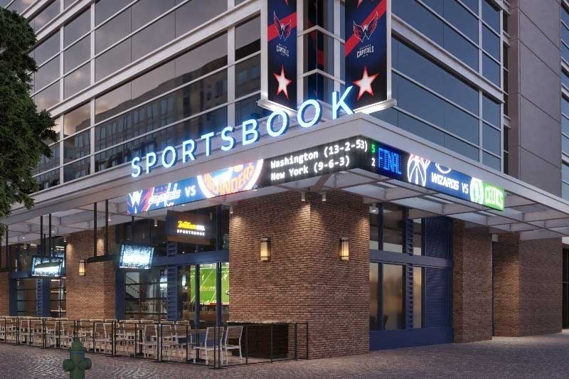 Sportsbook William Hill Unveils Permanent Washington Wizards Stadium Outlet