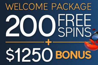 200 Free Spins Plus $1250 In Cash Bonus