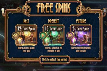 25 Free Spins No Deposit On Miles Bellhouse and the Gears of Time Slot