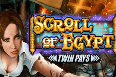Inspired Entertainment Launches Scroll of Egypt Twin Pays
