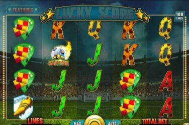Lucky Score - Spinomenal's Newest 100 Line Football Slot Game