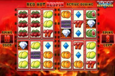Blueprint Gaming's Red Hot Repeater Power Spins Slot Is Live