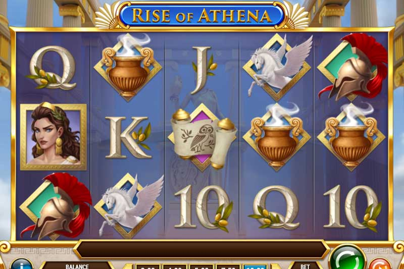 Play'n GO Launches Newest Slot Rise of Athena
