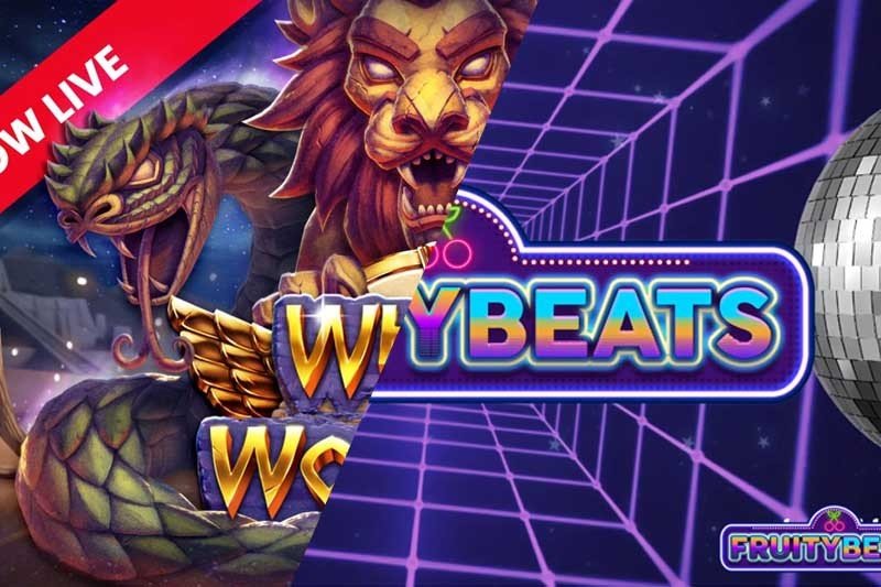 Spinmatic And Push Gaming Release New Slots Fruity Beats And Wheel of Wonders