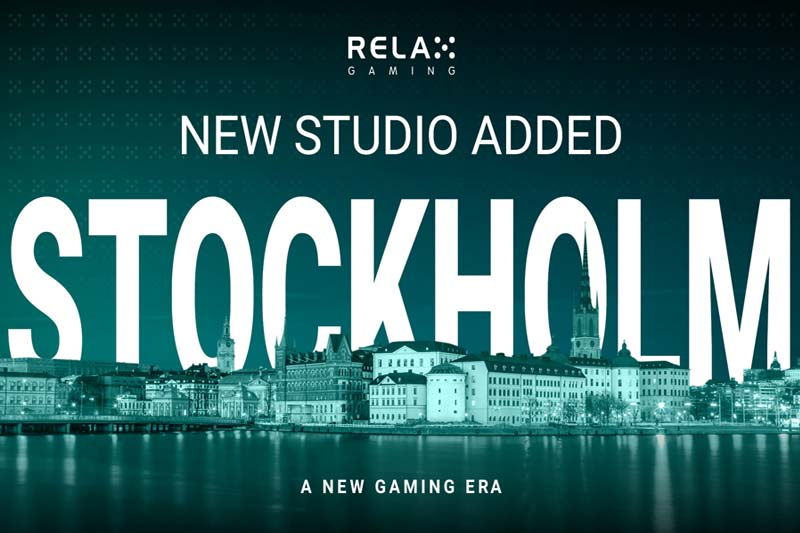 Relax Gaming Expands In Sweden With New Stockholm Studio