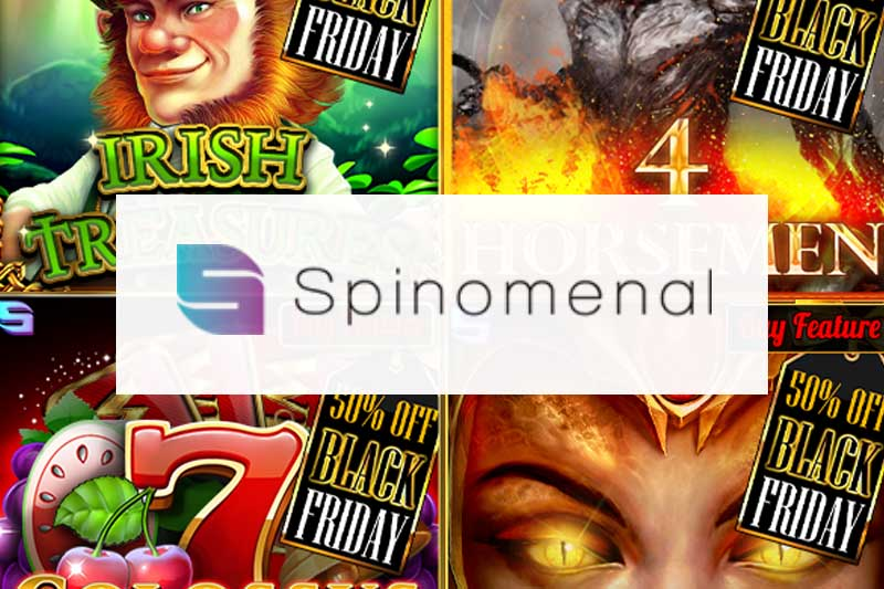 Spinomenal Black Friday Sale Is Now On