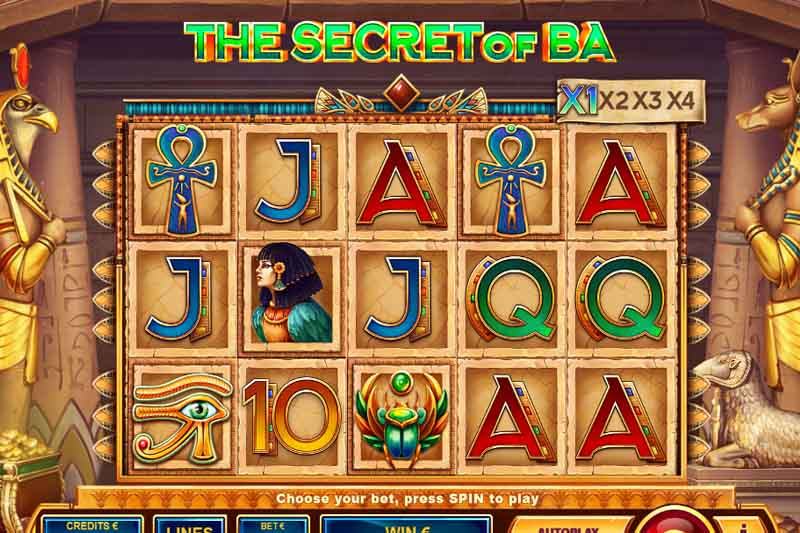 The Secret of Ba By Tom Horn Gaming - Slot Of The Week