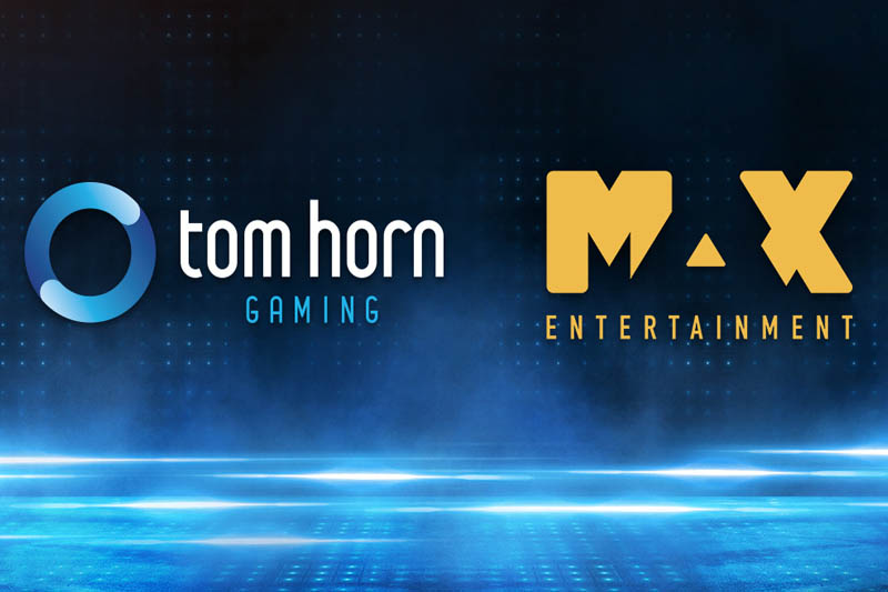 Online Casino Operator Max Entertainment Partners With Tom Horn Gaming