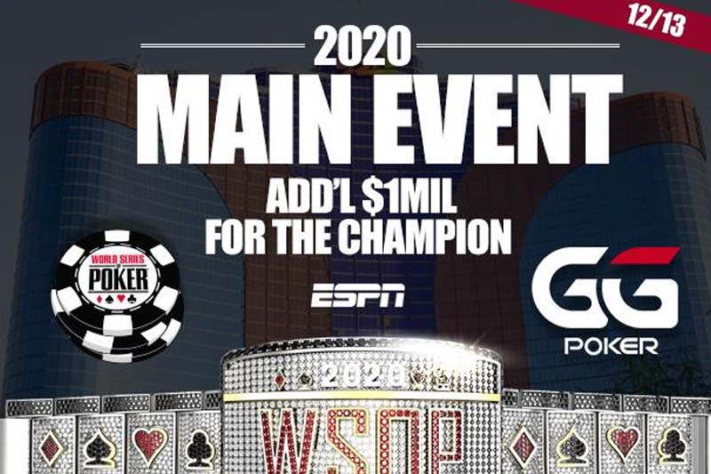 The Return Of WSOP Main Event During Covid-19 Pandemic