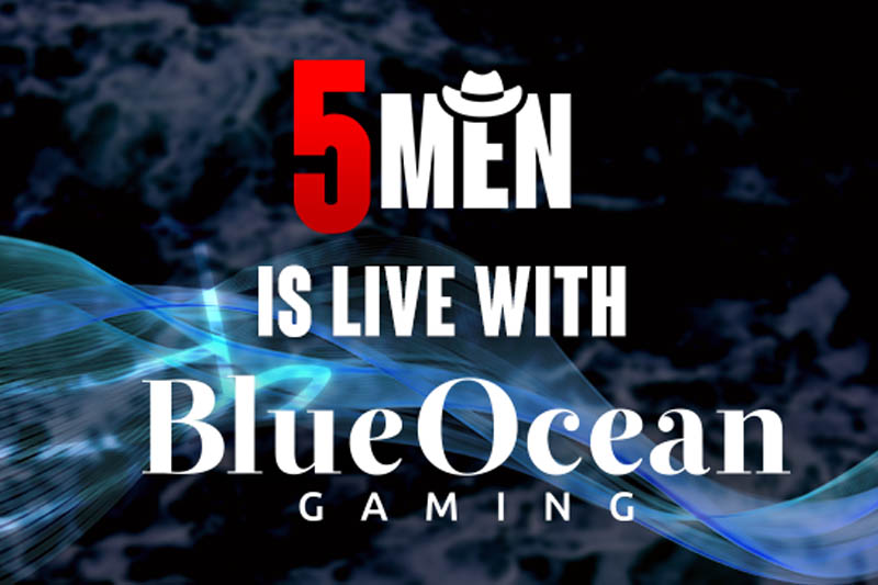 BlueOcean Gaming Thrilled To Partner With 5Men Gaming