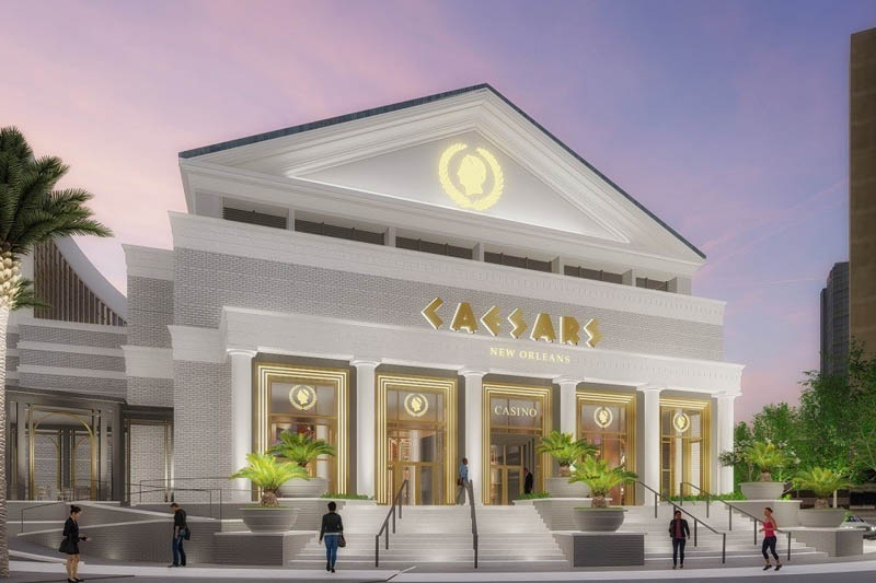 New Orleans To Be 'Moved Forward' With Caesars New Orleans