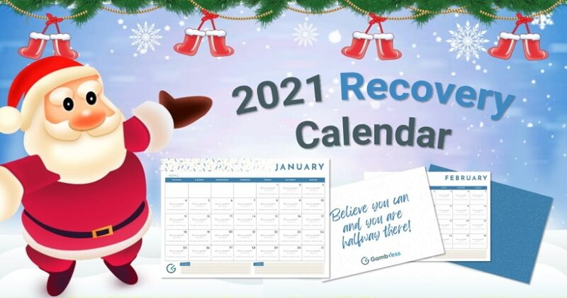 """Gambless Releases Its """"2021 Recovery Calendar""""!"""