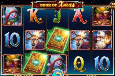 Spinomenal Get Festive With Book of Xmas Slot Release