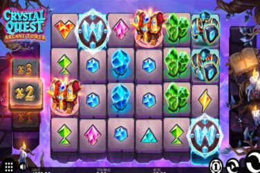 Thunderkick's Crystal Quest Arcane Tower Goes Live