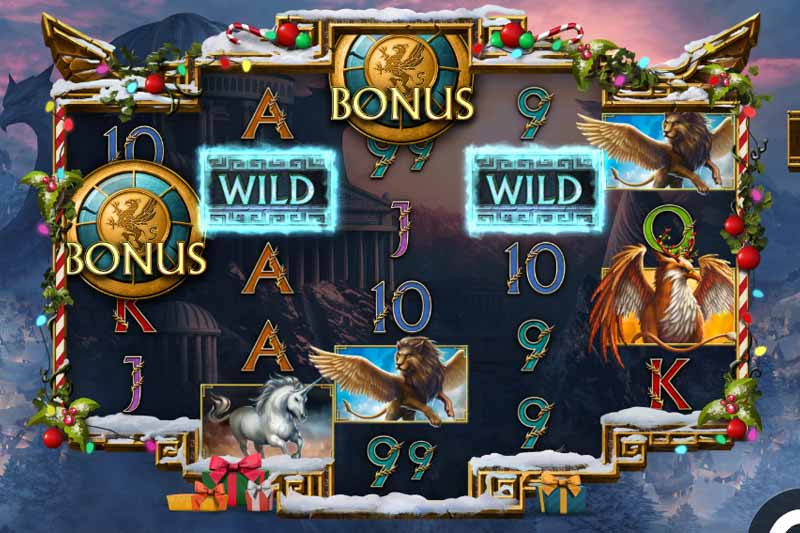 Griffin's Quest Xmas Edition - New Slot Release By Kalamba Games