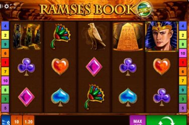 Gamomat's Ramses Book Double Rush Goes Live + Review