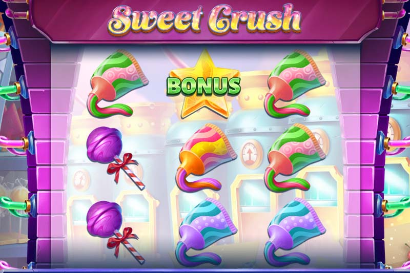 Sweet Crush - New Slot Release By Tom Horn Gaming + Review