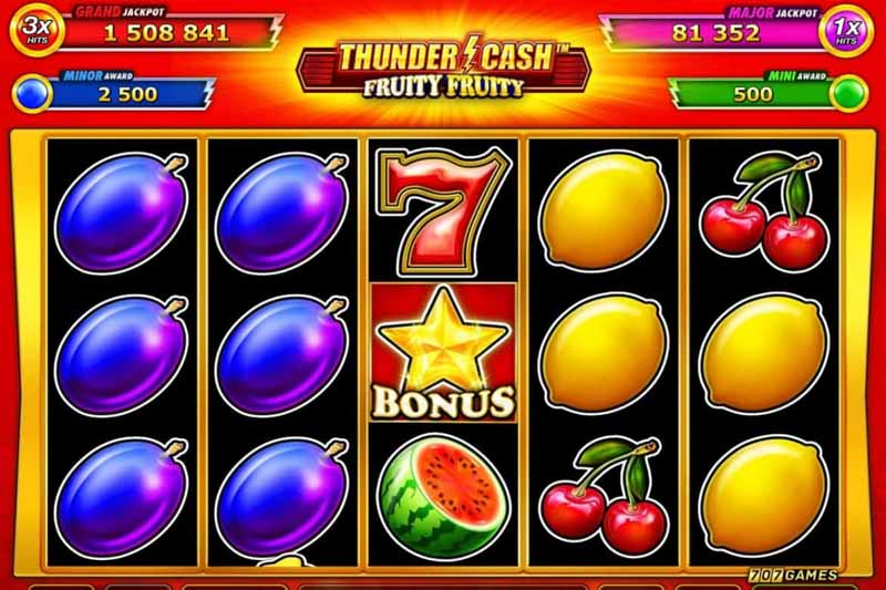 Greentube Launch New 50 Line Slot Thunder Cash Juicy Juicy