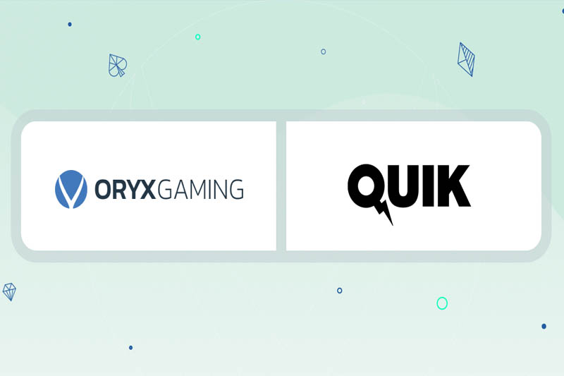 Quik Gaming Seeks Great Results With ORYX Gaming