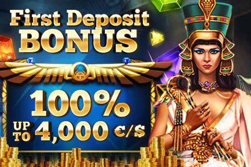 Top Online Casino First Deposit Bonus Up To €/$4000