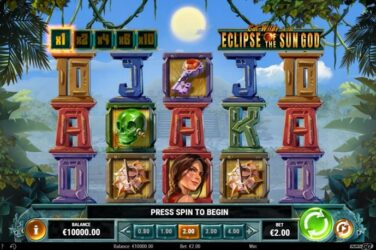 New Slot Release By Play'n GO: Cat Wilde in the Eclipse of the Sun God