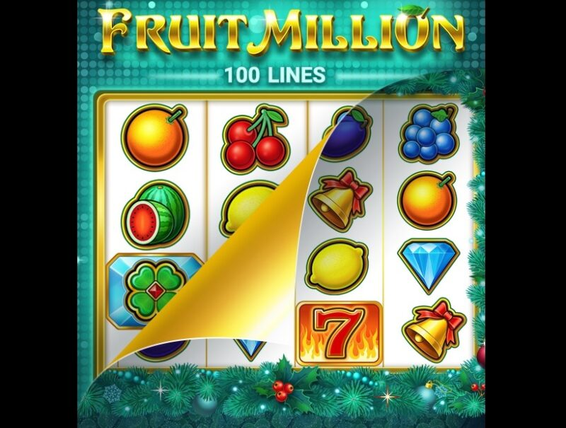 Fruit Million-spilleautomat - ny hud, samme moro!