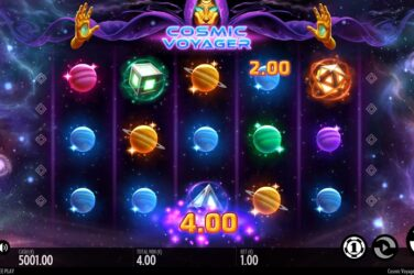 New Slot Release By Thunderkick: Cosmic Voyager