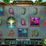 Lord Merlin And The Lady Of The Lake – New Slot Release By Play'n GO