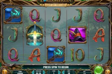 Lord Merlin And The Lady Of The Lake - New Slot Release By Play'n GO