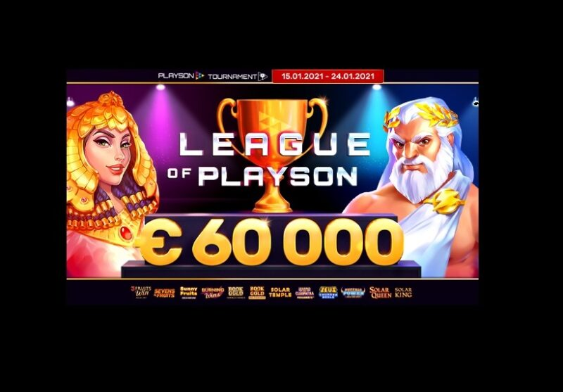 $/€60000 Huge Online Casino Jackpot Tournament