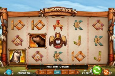 New Slot Release By Play'n GO: Thunder Screech