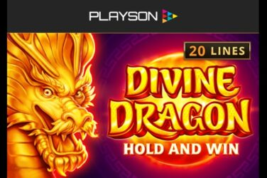 Novo izdanje automata tvrtke Playson: Divine Dragon - Hold And Win