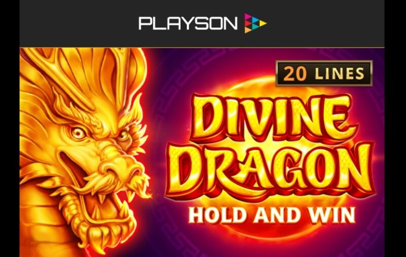 Nowe wydanie automatu Playson: Divine Dragon - Hold And Win