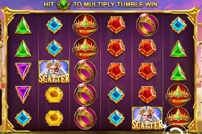 GatesofOlympus is the new tumbling slot from PragmaticPlay